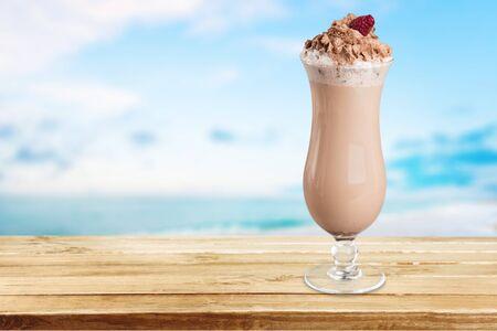 caloric: Milk Shake, Drink, Cream.