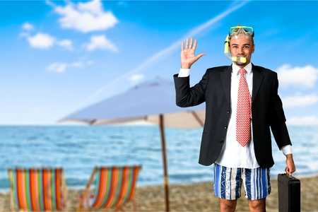 taking the plunge: Humor, Snorkel, Flipper.