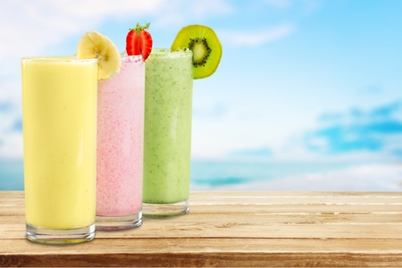 milk shake: Smoothie, Milk Shake, Milk. Stock Photo