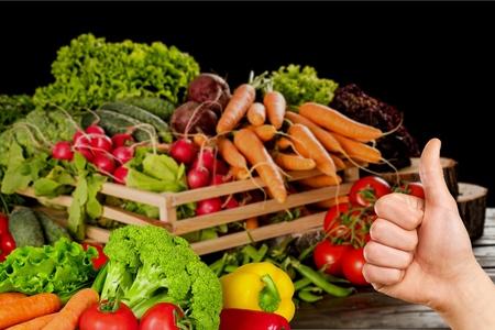alimentacion sana: Verduras, Alimentación, Comida sana. Foto de archivo
