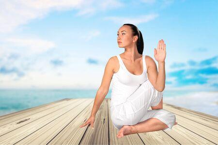buena postura: Yoga, Mujeres, Pilates.