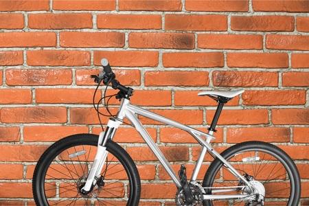 saddlebag: Bicycle, Mountain Bike, Isolated.