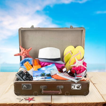 packed: Summer, packed, bag.