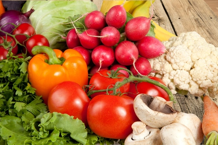 Légumes, manger sainement, de l'Alimentation. Banque d'images - 42484544
