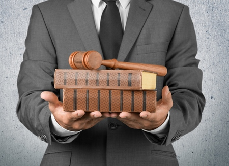 law: Lawyer, Law, Business. Stock Photo