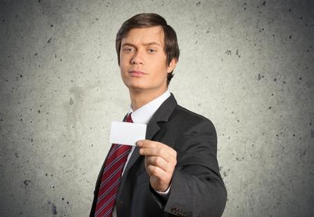 visitekaartje: Business Card, Business, Men.