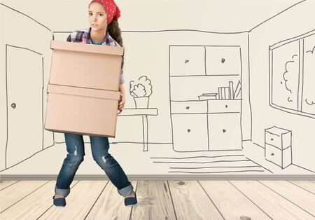 moving box: Moving House, Box, Physical Activity.