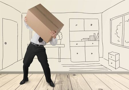 moving activity: Moving House, Box, Physical Activity.