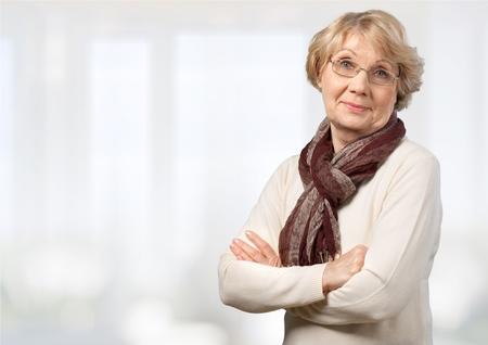 Senior Adult, Women, Cheerful.