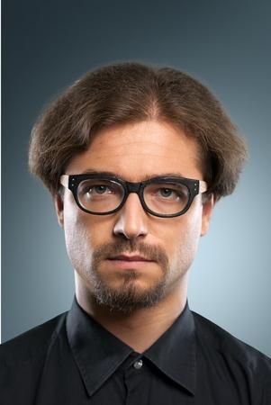 rosto humano: Face Humana, Homens, Retrato. Banco de Imagens