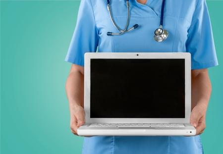 healthcare and medicine: Doctor, Computer, Healthcare And Medicine.