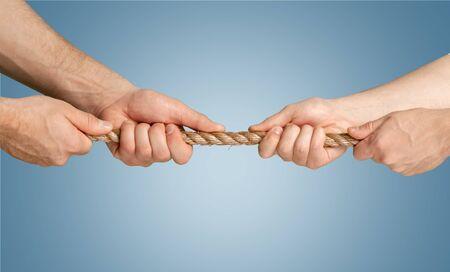 conflict: Conflicto, Lucha de la cuerda, la cuerda.
