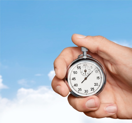 Speed, Stopwatch, Time. Stock Photo