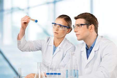 Laboratory, Scientist, Research. Standard-Bild