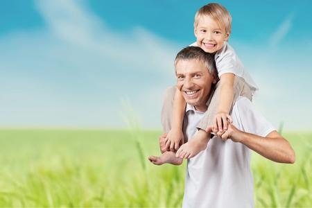 grandparent: Grandparent, Grandfather, Child. Stock Photo