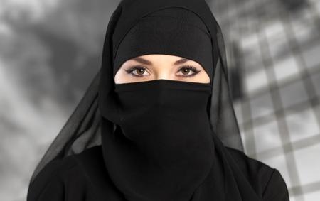 ksa: Niqab, saudi, muslim.