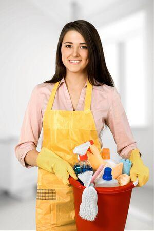 servicio domestico: Limpieza, limpiador, criada.