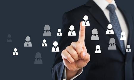 favoritism: Recruit, recruiter, hire.