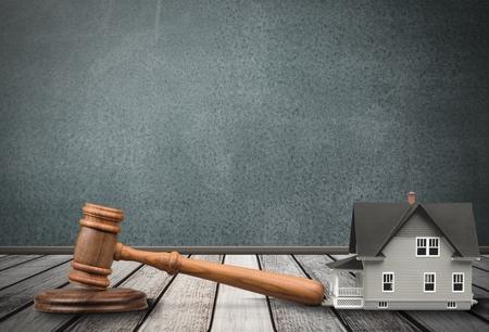 Auction, Law, House.