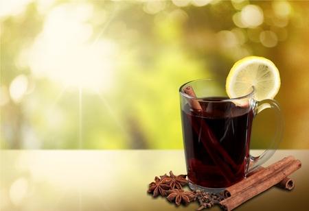 mulled: Mulled Wine, Tea, Wine.
