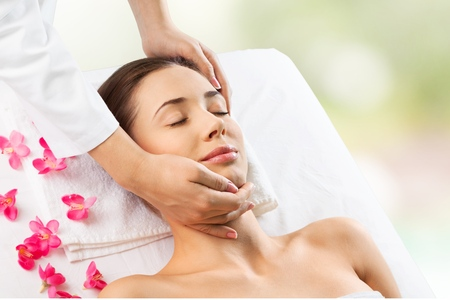 masaje facial: Spa, asi�tico, facial.