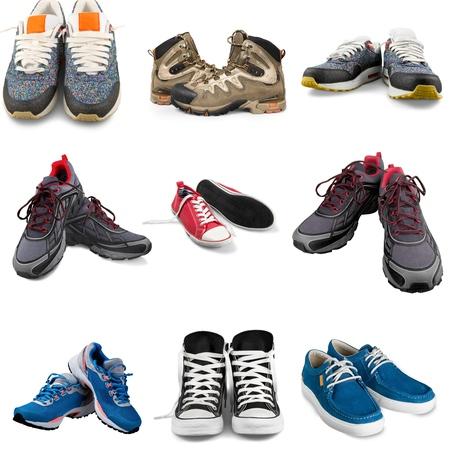 sports shoe: Sports Shoe, Shoe, Isolated. Stock Photo
