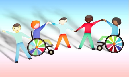 physical impairment: Disabled, Child, Physical Impairment.