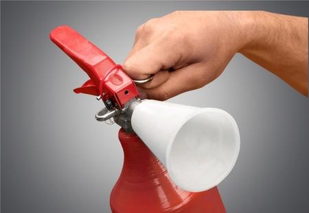 extinguishing: Fire Extinguisher, Extinguishing, Safety Equipment.