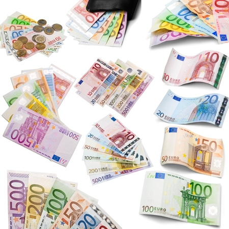 European Union Currency, European Union Euro Note, Currency.
