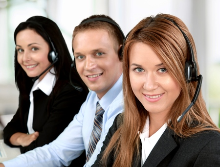 beauty center: Service, Customer Service Representative, Call Center.