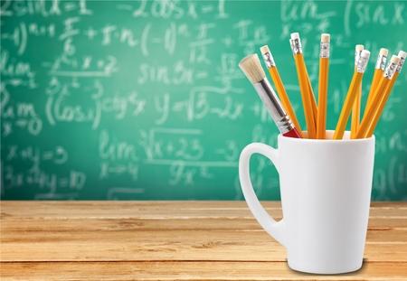 sharp pencil: Pencil, Teaching, Yellow. Stock Photo