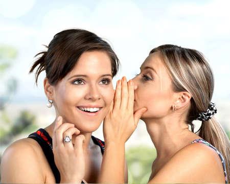 women friendship: Whispering, Women, Friendship.
