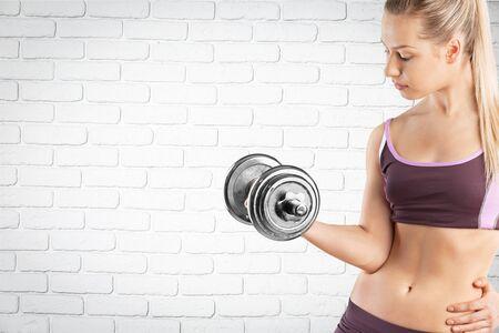 health woman: Health, gym, woman.