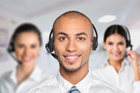 customer service representative: Customer Service Representative, On The Phone, Call Center.
