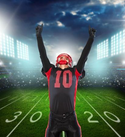 football player: American Football, Football Player, Athlete.