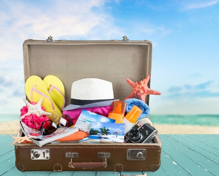 carry on: Summer, packed, bag.