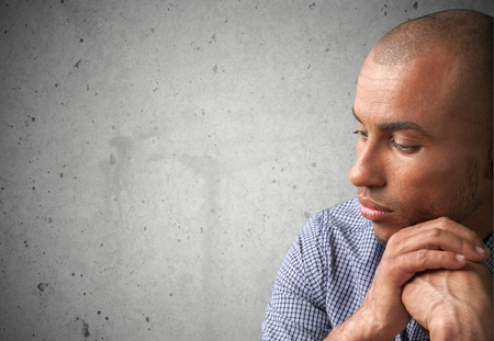 distraught: Depression, Sadness, Men.