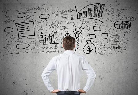 choose a path: Maze, career, business. Stock Photo