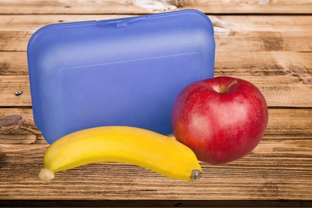 school objects: Lunch Box, Lunch, Packed Lunch.