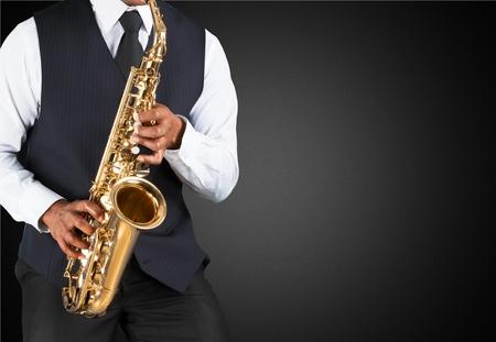 african sax: Rock, music, black.