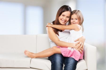 niños sanos: Niño, niño, mamá.