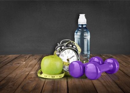 refreshment: Refreshment, water, leisure. Stock Photo