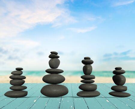 miracle: Miracle, Stone, Balance.