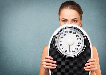 bathroom scale: Dieting, Exercising, Women.