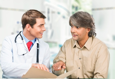 doctor patient: Doctor, Patient, Healthcare And Medicine.