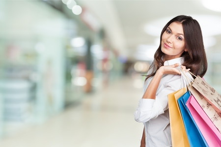 Shopping, retail, bags. Stock Photo
