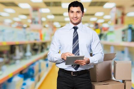 retail: Business, retail, worker.