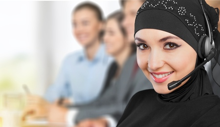 call center: Arabic, arabian, operator.