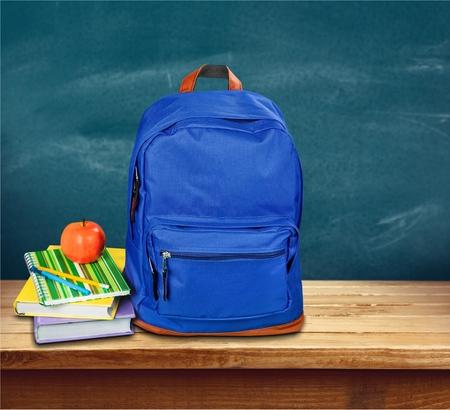 back pack: School, backpack, backpacker.