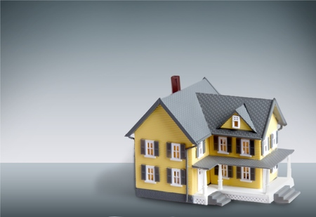 residential structure: House, Key, Residential Structure. Stock Photo